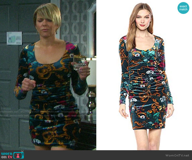 Guess Kae Dress worn by Nicole Walker (Arianne Zucker) on Days of our Lives