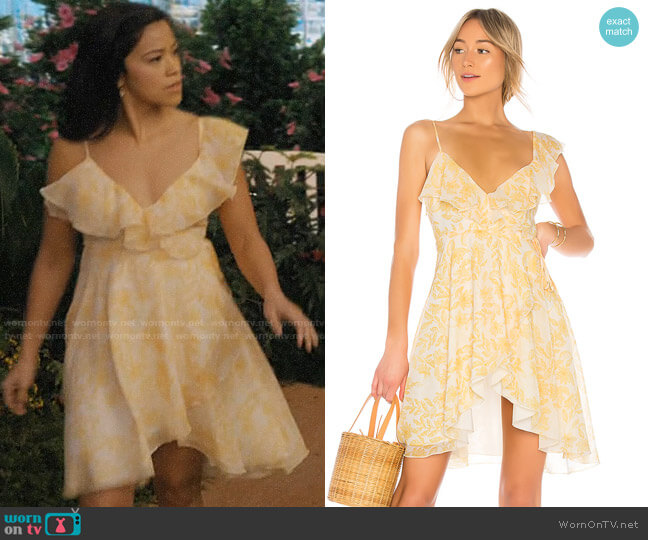 House of Harlow x Revolve Darma Dress  worn by Jane Villanueva (Gina Rodriguez) on Jane the Virgin