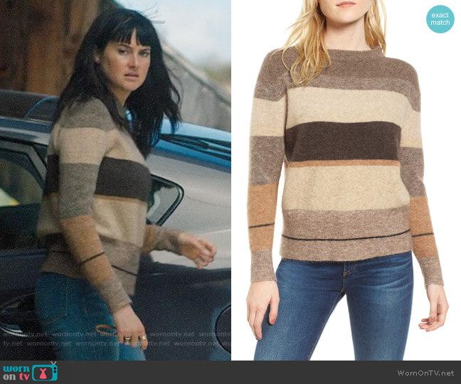 James Perse Stripe Sweater worn by Jane Chapman (Shailene Woodley) on Big Little Lies