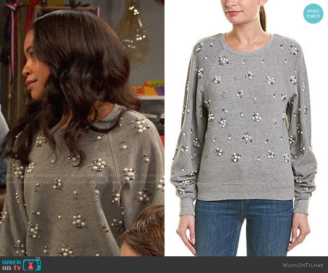 Joie Jesiah Sweatshirt worn by Nia Baxter (Navia Robinson) on Ravens Home