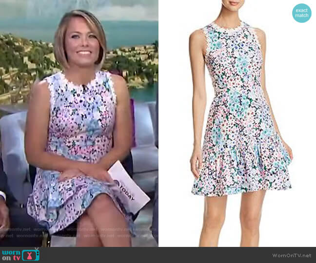 Daisy Garden Dress by Kate Spade worn by Dylan Dreyer  on Today