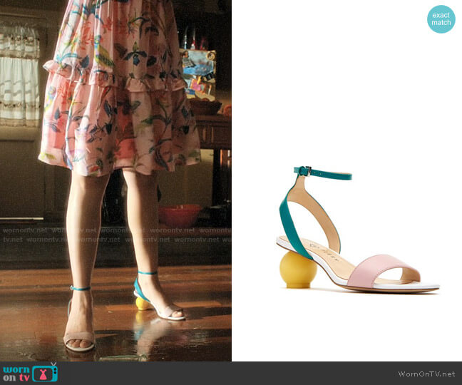 Katy Perry The Adventure Sandal worn by Jane Villanueva (Gina Rodriguez) on Jane the Virgin