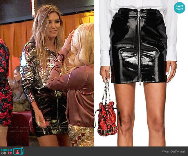L'Agence Claudia Skirt worn by Audrina Patridge  on The Hills New Beginnings