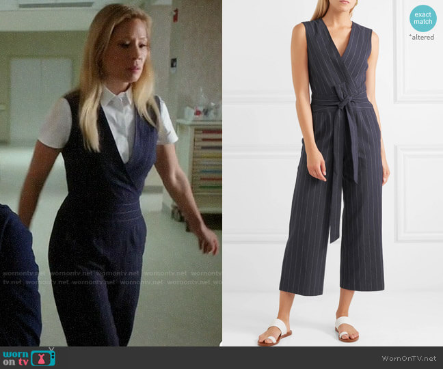L'Agence Joslyn Jumpsuit worn by Joan Watson (Lucy Liu) on Elementary