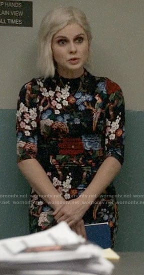Liv's floral and bird print dress on iZombie