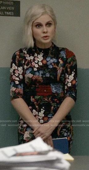 Liv's floral and bird print dress on iZombie