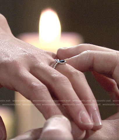 Lola's engagement ring on The Young and the Restless