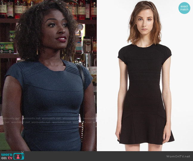 Maje Darling Dress worn by Ana Hamilton (Loren Lott) on The Young & the Restless