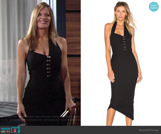 Misha Collection Donati Dress worn by Phyllis Summers (Michelle Stafford) on The Young & the Restless