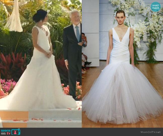 Valerie Dress - Spring 2018 Collection by Moniquel Huillier worn by Carolina (Feliz Ramirez) on Grand Hotel