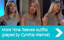 More Nina Reeves Fashion (Played by Cynthia Watros)