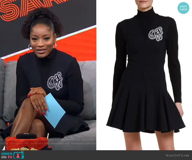 Cheerleader Dress by Off White worn by Keke Palmer  on Good Morning America