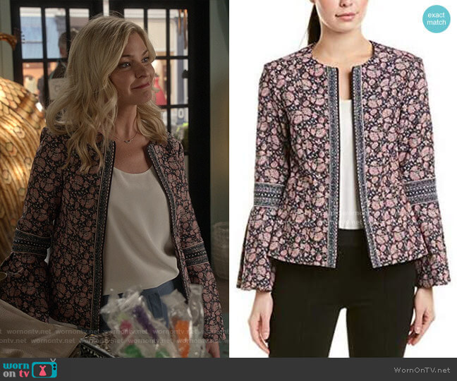 Oscar Jacket by Nanette Lepore worn by Stephanie Borden (Kylee Evans) on Good Witch