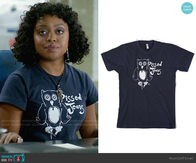Pissed Jeans Owl T-shirt worn by Lyla on iZombie