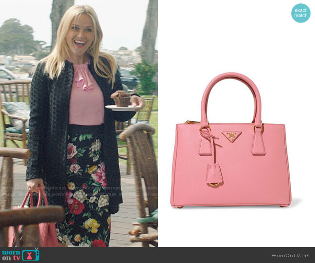 Prada Medium Galleria Tote worn by Madeline Martha Mackenzie (Reese Witherspoon) on Big Little Lies