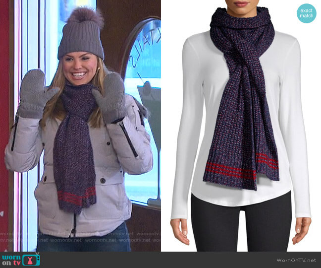 Cheryl Scarf by Rag & Bone worn by Hannah Brown  on The Bachelorette
