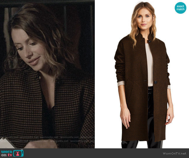 Rag & Bone Darwen Coat worn by Peyton Charles (Aly Michalka) on iZombie