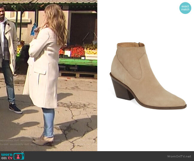 Razor Boots by Rag & Bone worn by Hannah Brown  on The Bachelorette