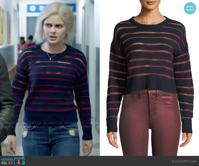 Rag & Bone Penn Sweater worn by Liv Moore (Rose McIver) on iZombie