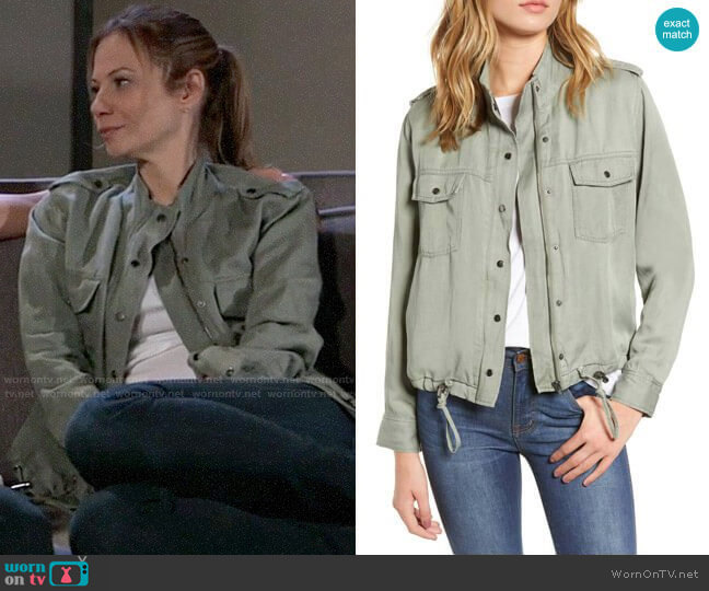 Rails Collins Jacket worn by Kim Nero (Tamara Braun) on General Hospital