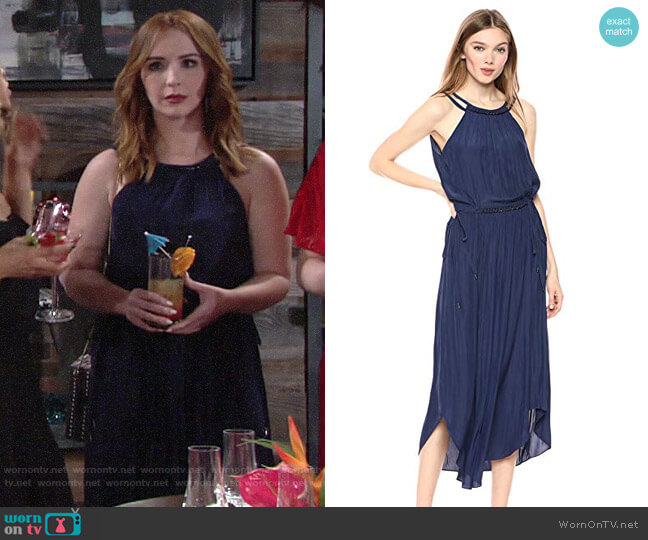 Ramy Brook Laurel Dress worn by Mariah Copeland (Camryn Grimes) on The Young & the Restless