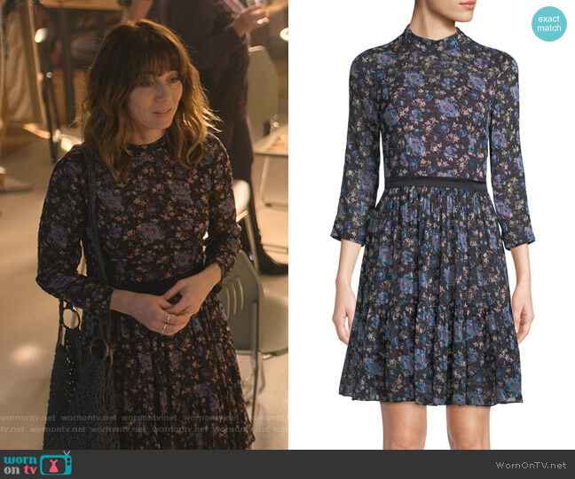 Solstice Dress by Rebecca Taylor worn by Judy Hale (Linda Cardellini) on Dead to Me