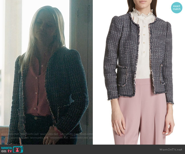 Rebecca Taylor Multi Tweed Jacket worn by Madeline Martha Mackenzie (Reese Witherspoon) on Big Little Lies