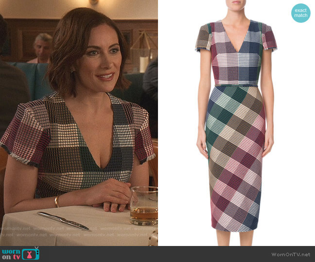 Chaney Dress by Roland Mouret worn by Quinn (Laura Benanti) on Younger