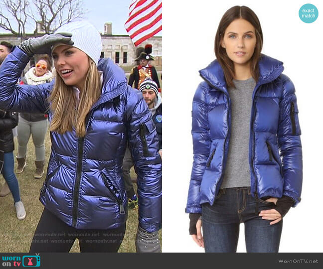 Freestyle Jacket by Sam. worn by Hannah Brown  on The Bachelorette
