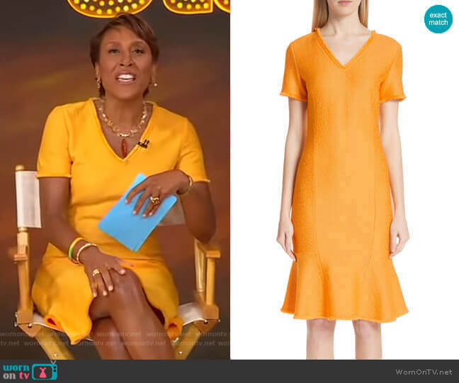 Caris Dress by St. John Collection worn by Robin Roberts  on Good Morning America