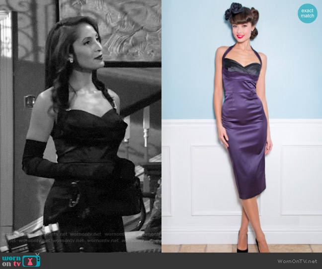 Stop Staring Covergirl Dress worn by Lily Winters (Christel Khalil) on The Young & the Restless