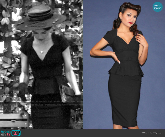 Stop Staring Obsession Dress worn by Victoria Newman (Amelia Heinle) on The Young & the Restless