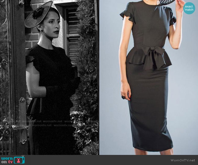 Stop Staring Willow Dress worn by Lily Winters (Christel Khalil) on The Young & the Restless