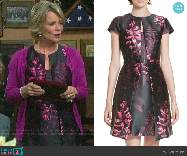 Ted Baker Jebby Dress worn by Kayla Brady (Mary Beth Evans) on Days of our Lives