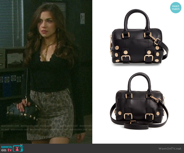 Topshop Bianca Studded Bag worn by Ciara Brady (Victoria Konefal) on Days of our Lives