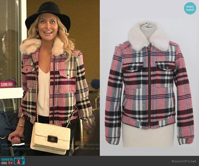 Topshop Check Jacket worn by Stephanie Pratt  on The Hills New Beginnings