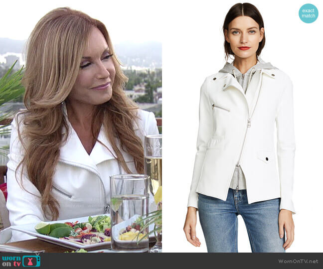 Veronica Beard Scuba Hadley Jacket worn by Lauren Fenmore (Tracey Bregman) on The Young & the Restless