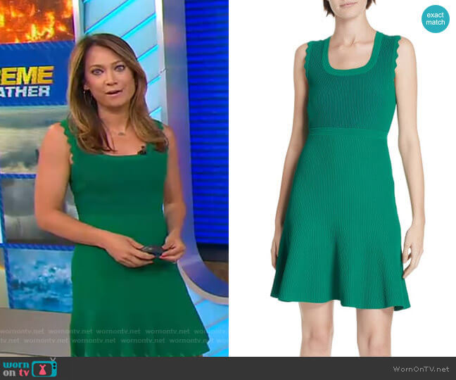 Adi Dress by Diane von Furstenberg worn by Ginger Zee  on Good Morning America