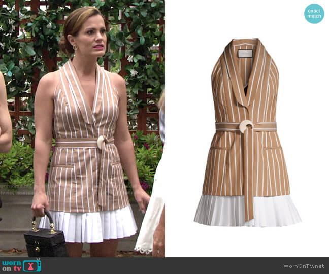 Alexis Carmona Dress worn by Chelsea Lawson (Melissa Claire Egan) on The Young & the Restless