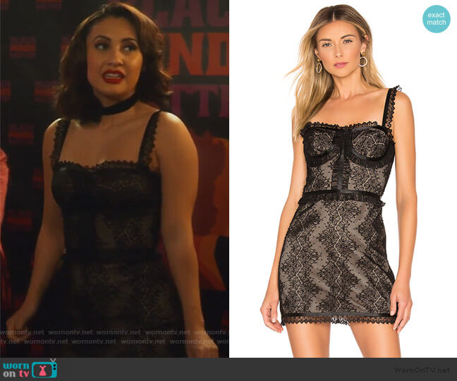 Kesi Dress by Alexis worn by Ana Torres (Francia Raisa) on Grown-ish