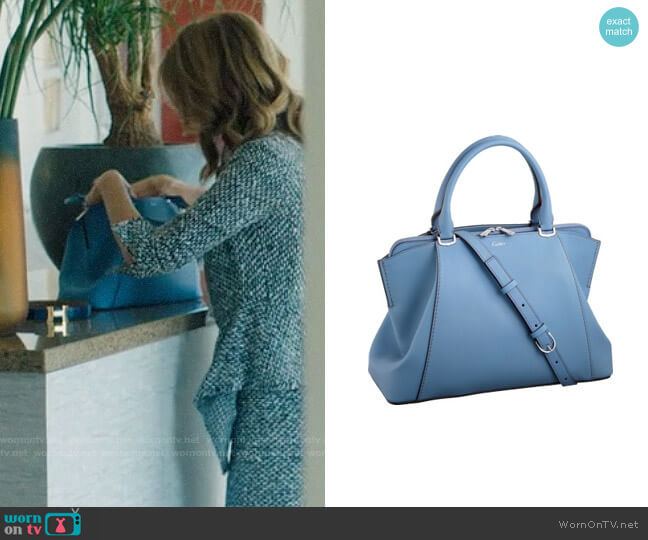 Cartier Small Bag worn by Renata Klein (Laura Dern) on Big Little Lies