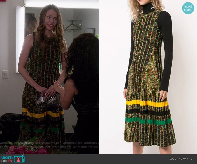 Knitted Dress by Calvin Klein 205W39NYC worn by Liza Miller (Sutton Foster) on Younger