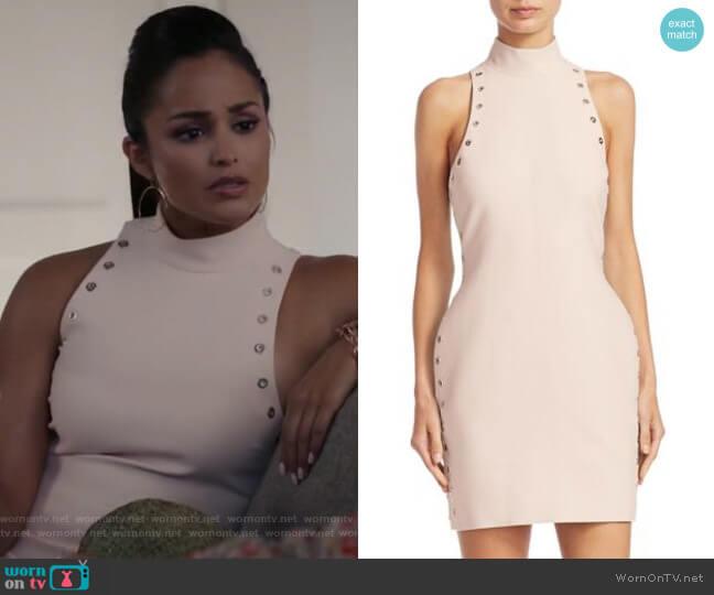 Ava Mini Dress by Cinq a Sept worn by Carolina (Feliz Ramirez) on Grand Hotel