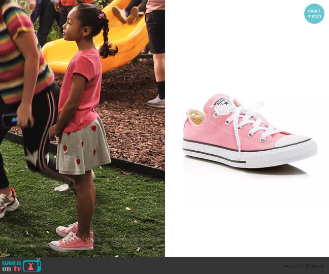 Chuck Taylor All Star Lace Up Sneakers by Converse worn by Ami (Jordyn Raya James) on Family Reunion