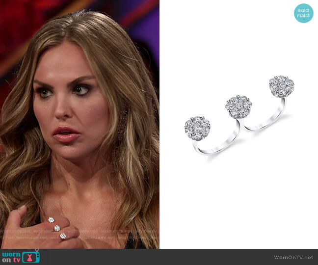 Evening Affair Diamond Ring by Dena Kemp worn by Hannah Brown  on The Bachelorette