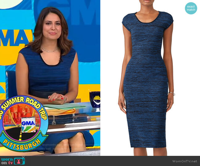 Scoop Neck Sweater Dress by Diane von Furstenberg worn by Cecilia Vega  on Good Morning America