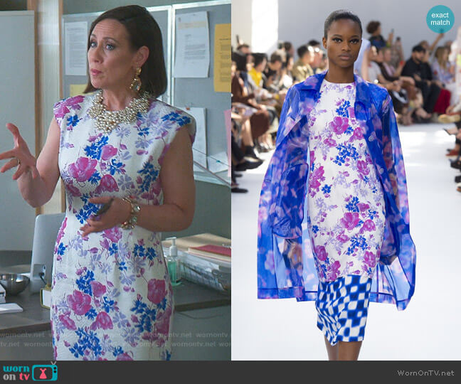 Spring 2019 Collection by Dries Van Noten worn by Diana Trout (Miriam Shor) on Younger