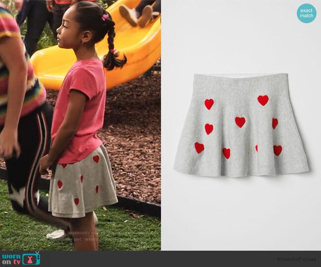 Fine-knit Skirt by H&M worn by Ami (Jordyn Raya James) on Family Reunion