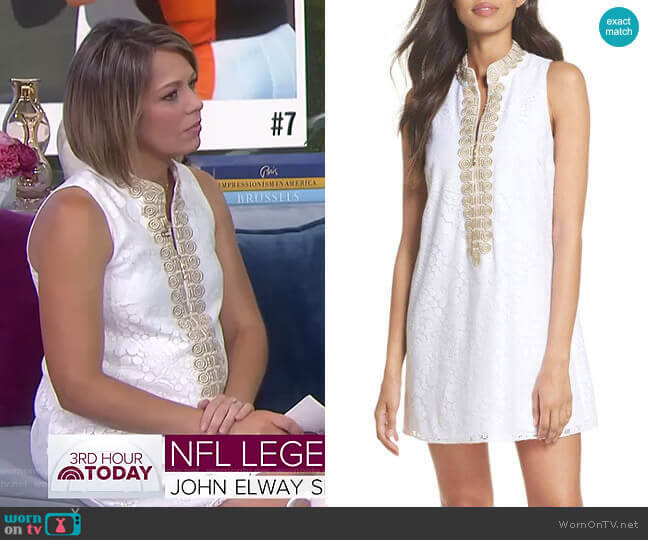 Jane Dress by Lilly Pulitzer worn by Dylan Dreyer  on Today