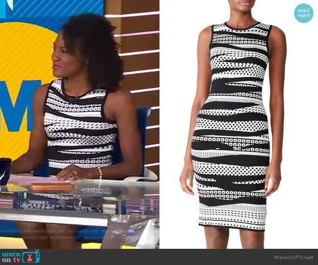 Theo Dress by John + Jenn worn by Janai Norman  on Good Morning America